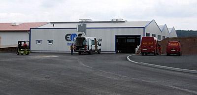 Juli 2008 – Erweiterung der Produktionsflächen um ca. 1.000 m²