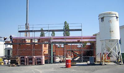 Juni 2011 – Neubau Materiallagerhalle 380 qm