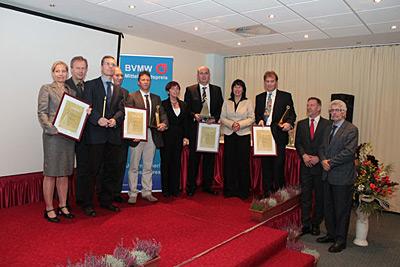 Oktober 2010 – Dr. Dieter Schmidt – Geschäftsführer  der EMS Straufhain GmbH  erhält den BMVW-Mittelstandspreis
