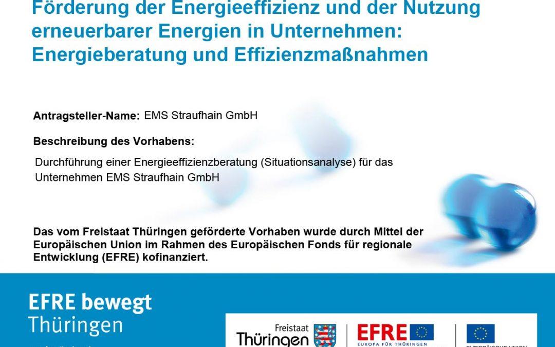 Oktober 2017 – Durchführung einer Energieeffizienzberatung
